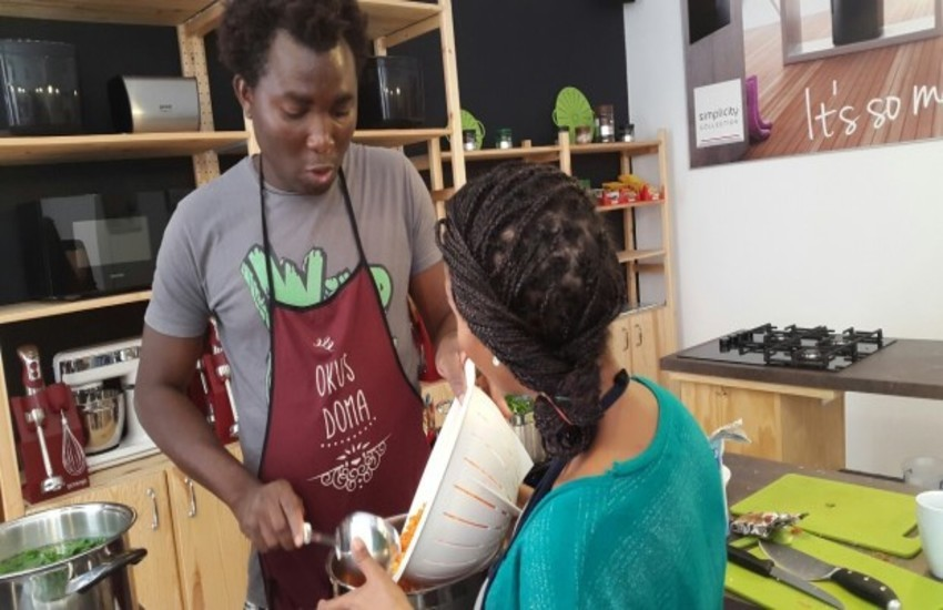 TASTE OF HOME: A KITCHEN RUN BY REFUGEES
