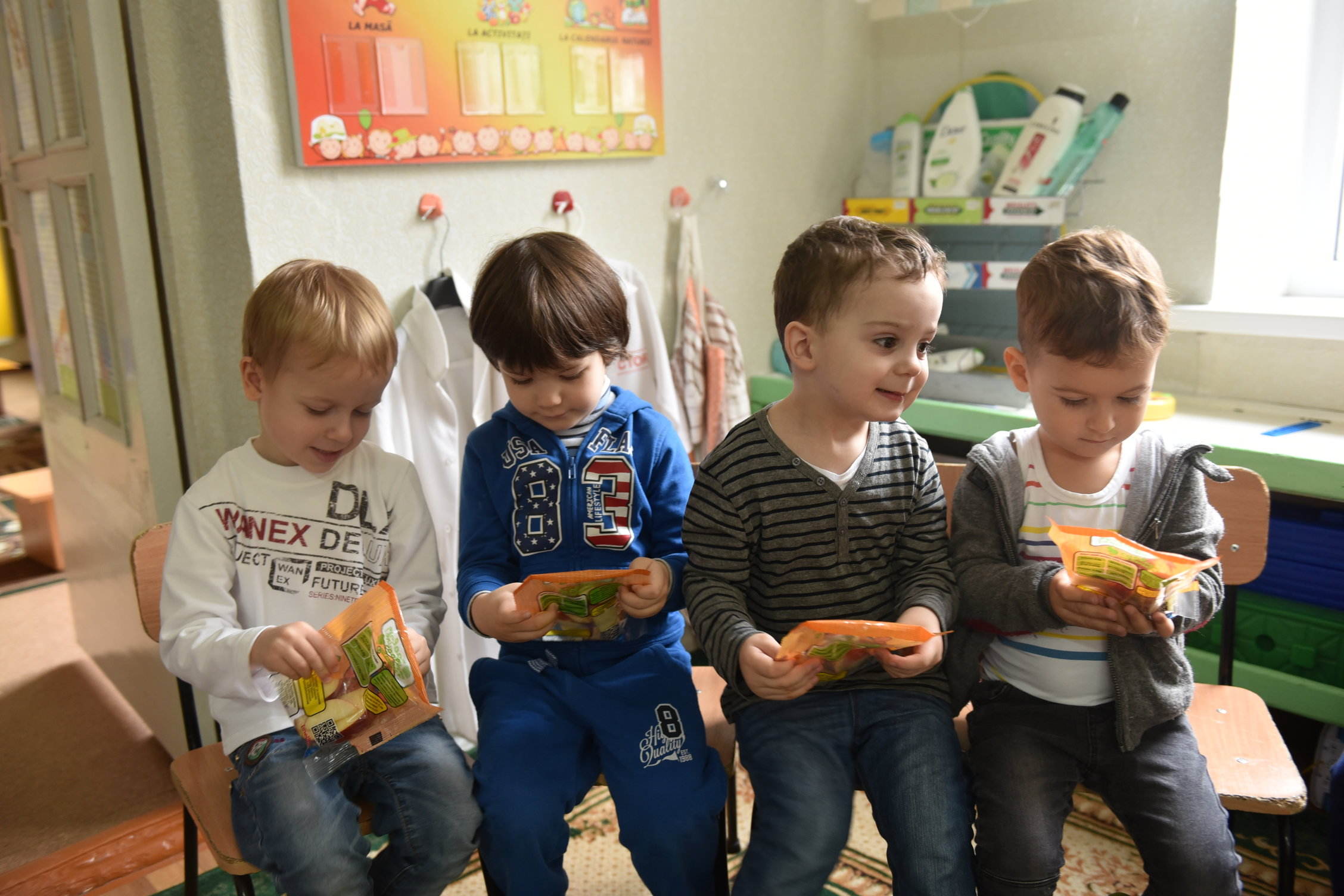 UNDP Moldova is keeping the doctor away from more than 3000 school-age children